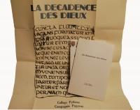 """""""La Décadence Des Dieux"""""""